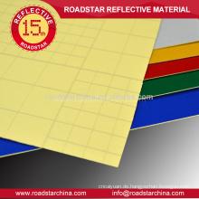 Großhandel Sicherheit reflektierende Folie für Straßenschilder
