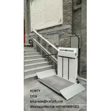 Outdoor inclined wheelchair stair lifts for the disabled people