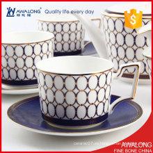 Blue Triumphal Arch Diseño de Café y Té / Splendid Coffee Set de la tarde