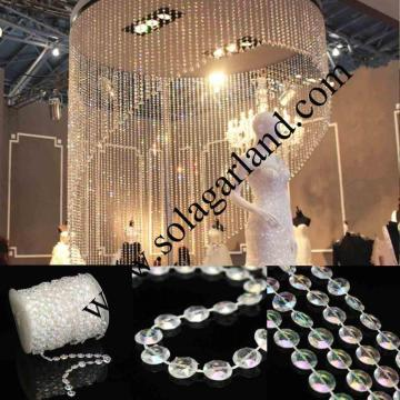 99Feet klar Blase Perlen Roll Garland Hochzeit Party Decor