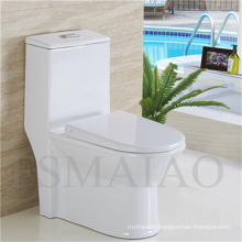 Sanitary Wares Bathroom One Piece Ceramic Toilet Bowl (8107)