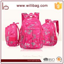 Bolso de escuela atractivo más nuevo de la mochila de la flor de la manera