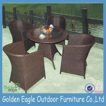 Hot Jual Popular Rattan Dining Set / Lounge Rattan