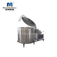 Санитарная нержавеющая сталь 100L-200L или (вертикальная и насыпная) емкость для охлаждения молока