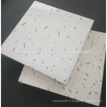 Plafond acoustique de fibre minérale -densité élevée pour des centres commerciaux