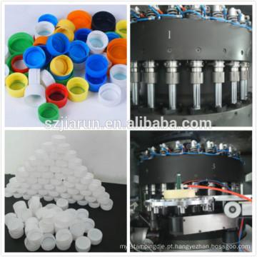 Máquina de moldagem de compressão de tampão de plástico