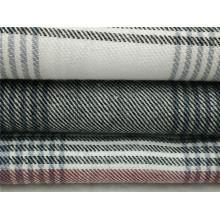 100% хлопчатобумажная пряжа окрашенная фланелевая ткань для пижамы и пижамы
