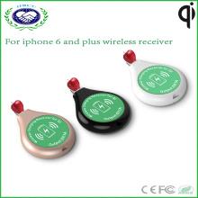Récepteur de recharge sans fil rond pour iPhone et Android