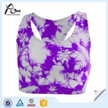 Custom Body Shape Sublimation Printed Plus Size Bra