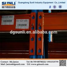 Venta caliente almacenamiento ajustable estante de la plataforma de acero inoxidable