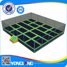 Высокое качество крытый trampoline с Вышибалы