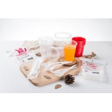 Пищевая ПП Пластиковая Ложка для Салфетки
