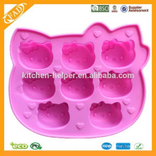 100% Food Grade hello kitty mold