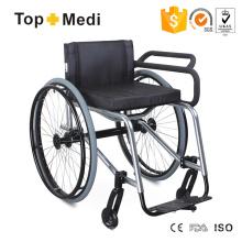Sport-Rollstuhl mit festem Rahmen aus Aluminium