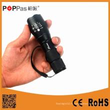 Eclairage imperméable Xm-L T6 LED Zoomable Torch Light