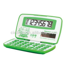 Calculatrice électronique pliante, mini calculatrice mignonne