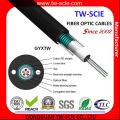 GYXTW del cable de fibra óptica para exteriores G652D