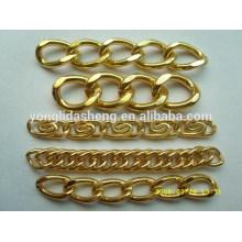 Beautiful shape custom size long metal purse chains