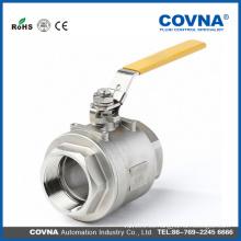 Válvula de bola del cuerpo SUS316 1000WOG de 2PC con el mejor precio