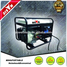 Generador de la máquina de soldadura de 3 fases de refrigeración por aire Diesel Set Precio Silent Type