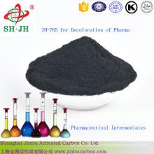 Aktivkohle zur Entfärbung von pharmazeutischen Zwischenprodukten