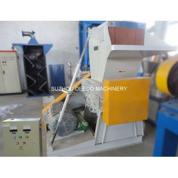 Machine de concassage de film de plastique de rebut et de broyeur de bouteille