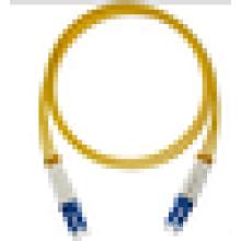 100% оптически проверенный Высококачественный 9/125 LC одномодовый волоконно-оптический соединительный кабель / кабель / перемычка
