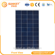 Preço do painel solar de 100 w no sistema do painel solar de casa móvel de Sri Lanka