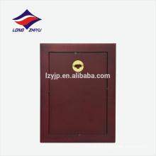 Plaque de décoration en bois en forme de rectangle personnalisée en blanc