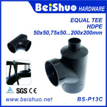 HDPE Pipe Fittings Equal Tee