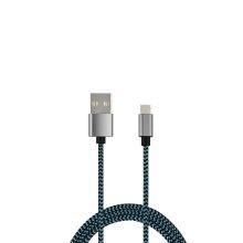 Cable USB de sincronización de la tela de nylon y cable del USB de la carga para el dispositivo del tipo C