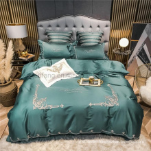Hot Sale Luxury White Duvet Cover Soft for Double Bed