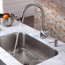 American cUPC US Stainless steel Undermount Rectangular Kitchen Sink with single bowl