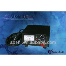 2013 ADShi Top-Qualität und gute Leistung Guage Tattoo Stromversorgung und Stromquellen
