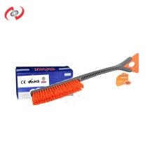 2-In-1  52CM Long Handle Snow Brush With Soft Bristles Adjustable Scraper Car Wash Equipment Wheel Brush