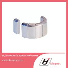 Ímã de NdFeB N35-N50 personalizado no Motor com processo de alta qualidade fabricado pela fábrica de China
