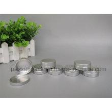 20g frasco de creme de rosto de alumínio com tampa deslizante (PPC-ATC-020)