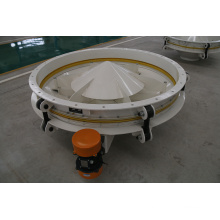 High Quality China Light Weight Discharge Vibratory Sieve for Wheat Flour