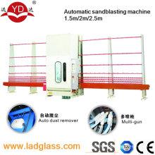Máquina do vidro de controle do PLC para o sopro de areia