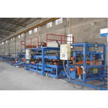 ISO9001:2008 Ligne de panneaux sandwich EPS en acier de couleur