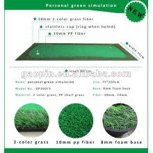 2015 Новый Персональный продукт для гольфа положить зеленый моделирование