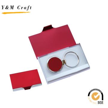 Superior Custom Aluminium Keychain Business Name Card Holder for Gift