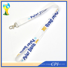 Polar Dash Sublimation Neck Lanyard with Care Label