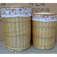 (BC-WB1022) Cesta de lavadero natural hecha a mano de la alta calidad / cesta del regalo