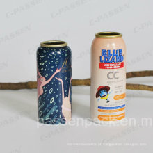Garrafa de aerossol de alumínio para embalagens de spray protetor solar (PPC-AAC-033)