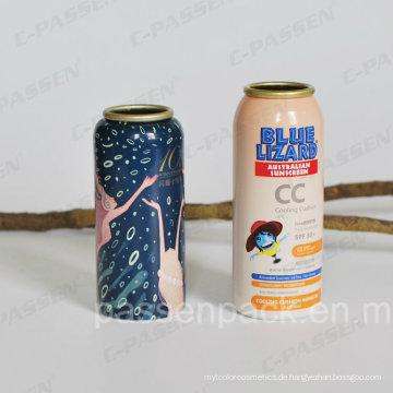 Aluminium Aerosol Flasche für Sonnenschutz Spray Verpackung (PPC-AAC-033)