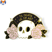 High quality round head pin with glitter