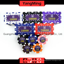 American Dice Poker Chip Set 760PCS (TM-FMGM002)