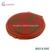 Portátil de beleza redondo espelho cosmético para anúncio