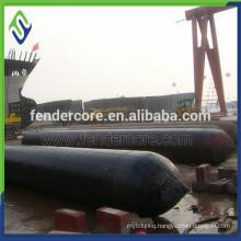 Sausage air bag rubber balloon for ship launching/salvage/lifting
